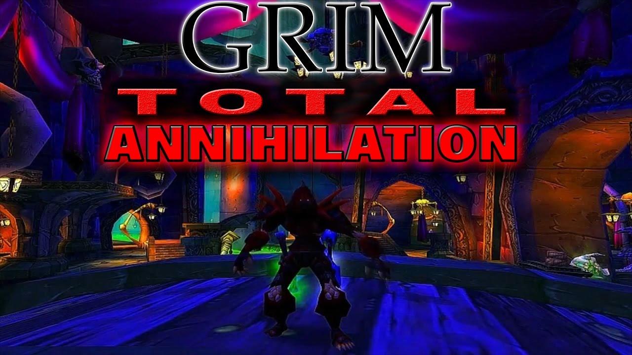 Grim - Total Annihilation - 60 Undead Rogue PVP 2006 Full Movie HD REUPLOAD