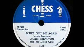Jackie Brenston Blues Got Me Again 1952 Chess 1532