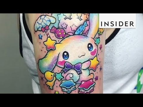Artist Designs the Most Colorful Tattoos