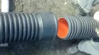 видео Трубы Корсис для канализации