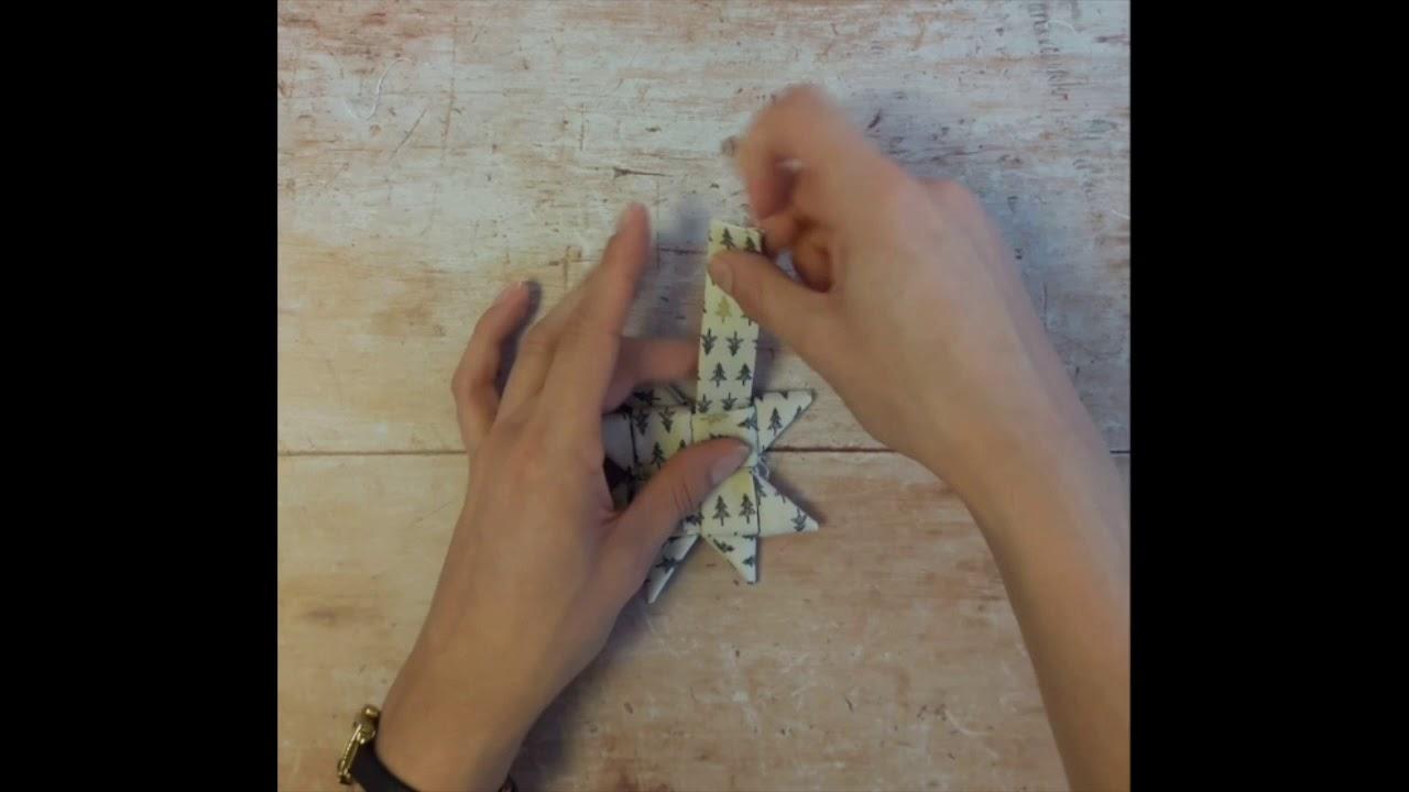 How To Fold Origami Stars Youtube Christmas Star Tavin39s