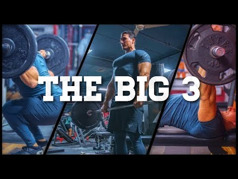 TOP MUSCLE BUILDING EXERCISES: THE BIG 3