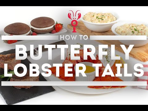 How To Butterfly A Lobster Tail