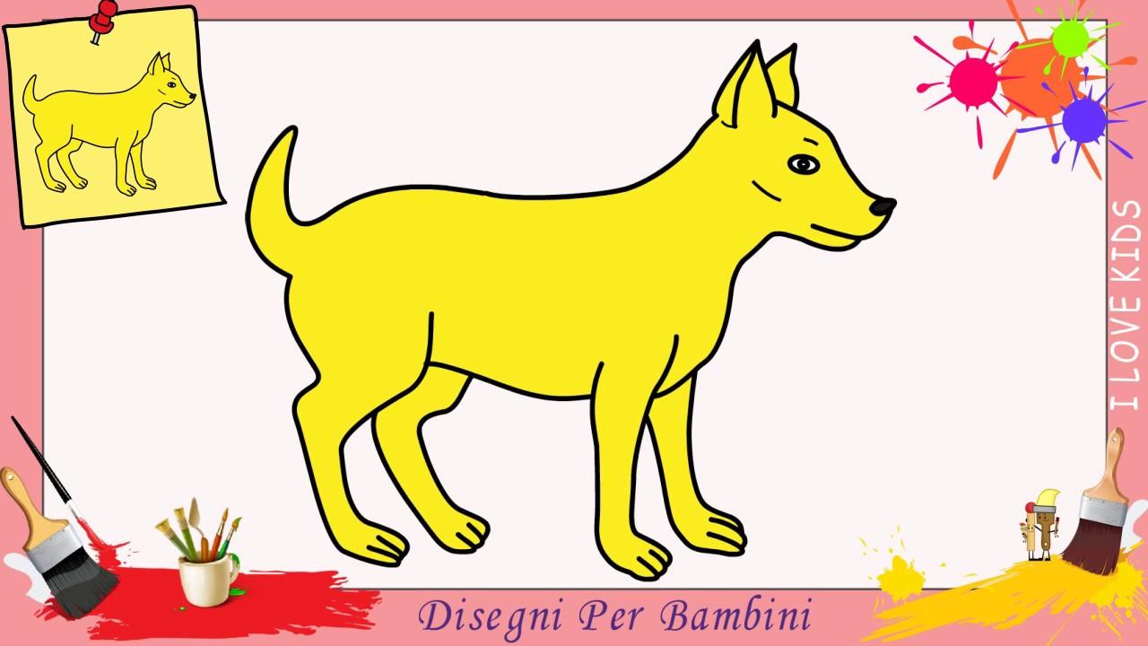 Disegni Di Cani Facili Per Bambini Come Disegnare Un Cane Passo