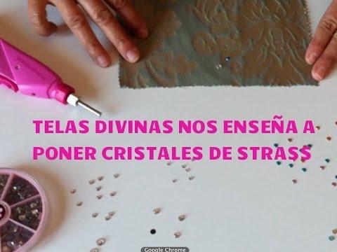 183cefc8f010 Tutorial para pegar Cristales tipo Strass con una sencilla Herramienta...en  Español.