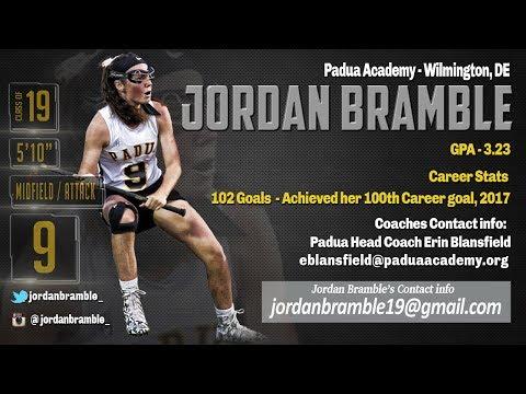 Jordan Bramble 2017 Highlights, Padua Academy
