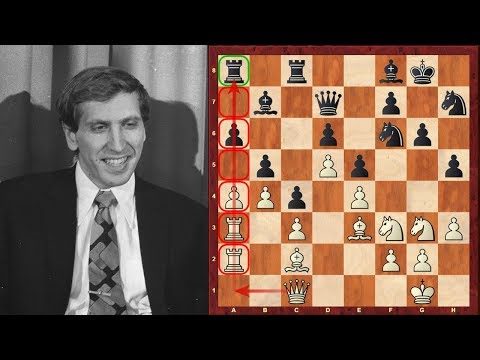 Bobby Fischer's Chess masterpiece after 20 years of inactivity - Game 1 vs Spassky, 1992 Match