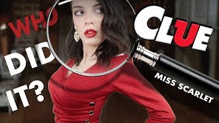 ASMR | CLUE! | Miss Scarlet in the Ballroom