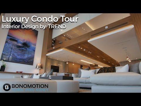 Cinematic Luxury Tour - Marquis Miami Condo Interior Design