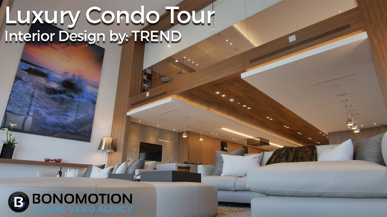 Cinematic Luxury Tour - Marquis Miami Condo Interior ...