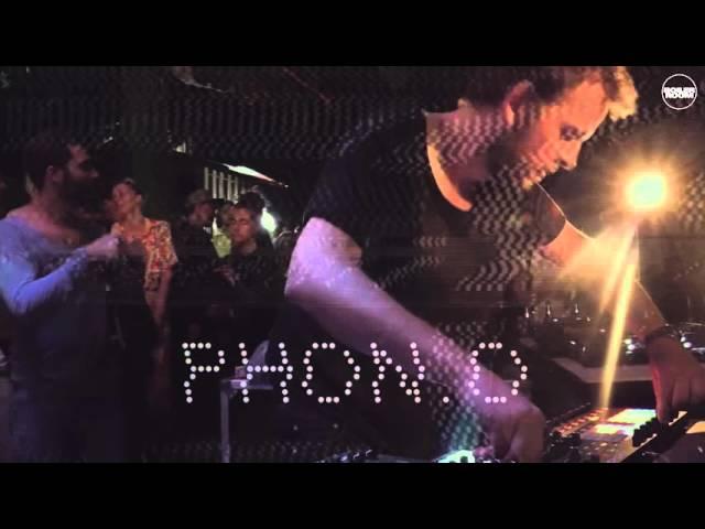 Phon.o Boiler Room Berlin Live Set