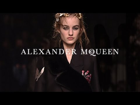 Alexander McQueen blooms into autumn