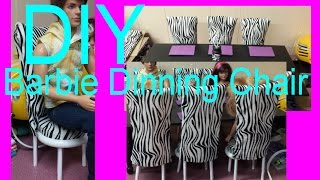Barbie - How To Make A Dining Chair