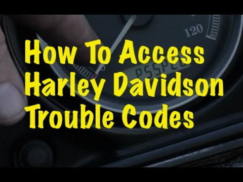 SBTV How To - Accessing Computer Trouble Codes On Harley Davidson Motorcycles
