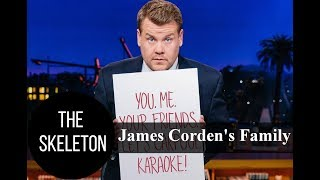 TV Host James Corden's Family