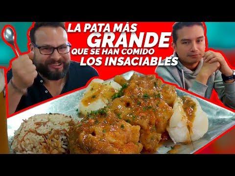 La pata más grande que se han comido los insaciables *El almuerzo de 8 mil pesos* Mi Cabaña