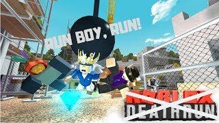 """""""Run boy, run!"""" Deathrun (Roblox)"""