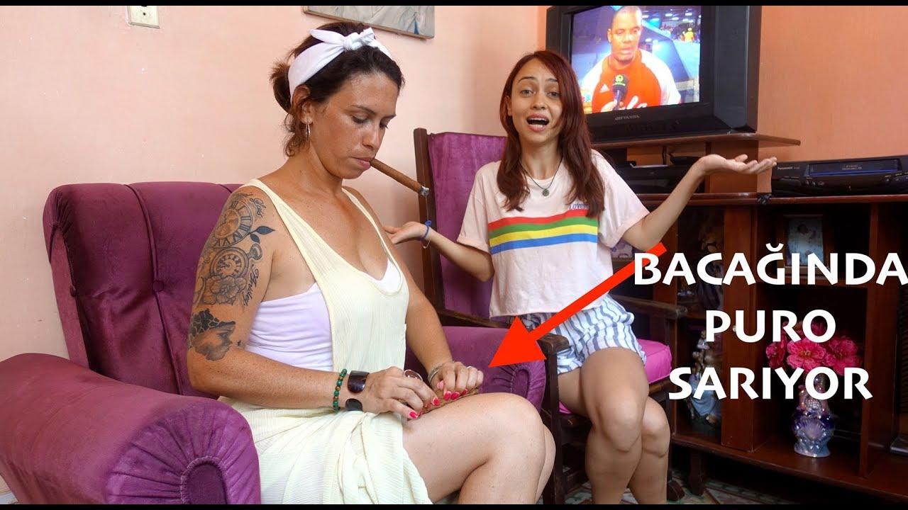 Küba'da İlk Defa Bacağında Puro Saran  Kadın Gördüm!