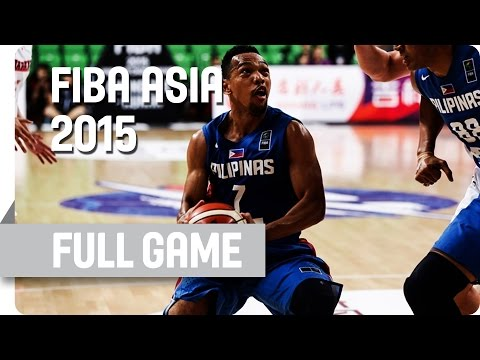 Japan v Philippines - Group E - Full Game - 2015 FIBA Asia Championship
