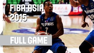 Japan v Philippines - Group E - Live Stream - 2015 FIBA Asia Championship