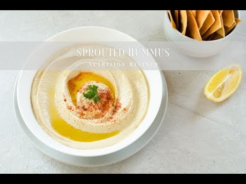 Sprouted Hummus - Raw & Cooked Version