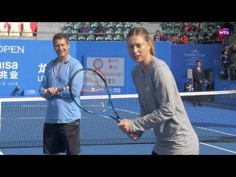 2018 Shenzhen Kids Day Featuring Maria Sharapova