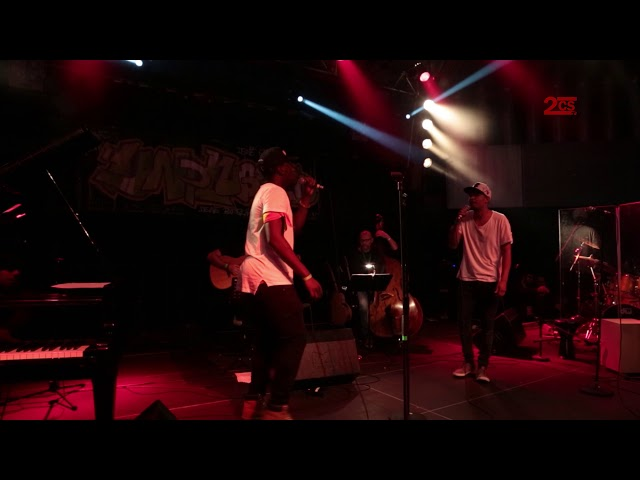 Skillz & JP mit 2CS-Band - Dream big, live long | Unplugged 2016 | 2. Chance Saarland