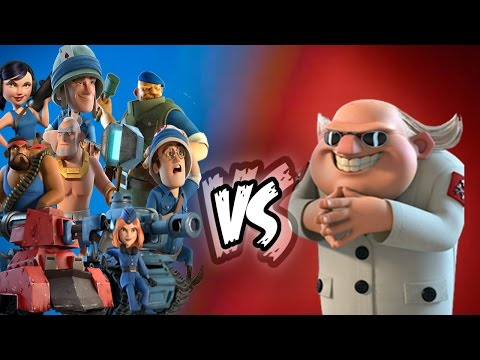 All Troops (Noah's Ark) vs Dr Terror in Boom Beach!