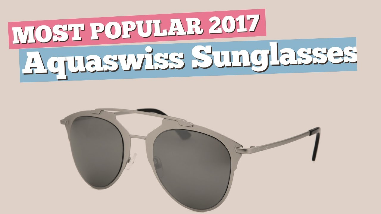 649d469fafe Aquaswiss Sunglasses Collection    Most Popular 2017 - YouTube