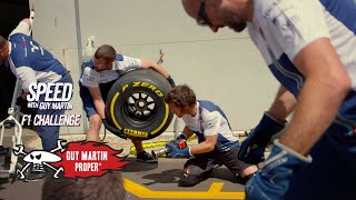 Guy's F1 Pit Stop Training | Guy Martin Proper