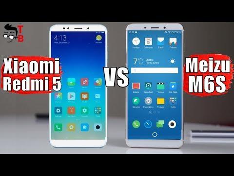 Meizu M6S vs Xiaomi Redmi 5: Compare Best Budget 18:9 Phones of 2018