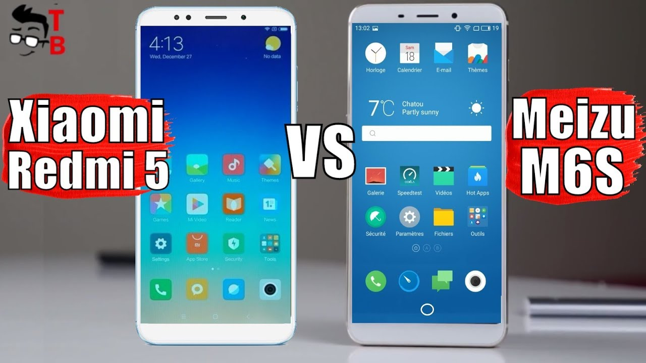 Meizu M6S and Xiaomi Redmi 5 - Comparison