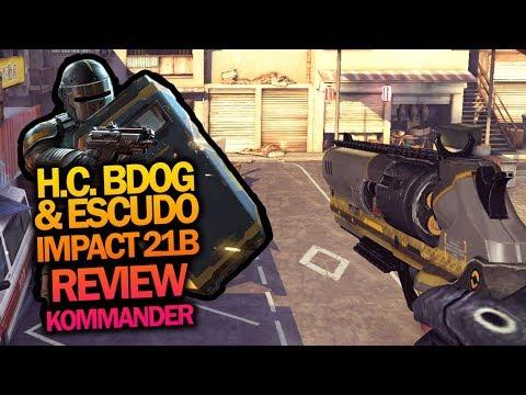 (MK7) H.C. BDOG + ESCUDO IMPACT 21B: KOMMANDER REVIEW | HERO CHARLY