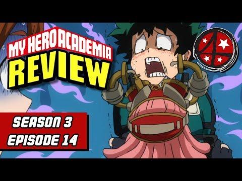 Midoriya's Ultimate Move   My Hero Academia Season 3 Episode 14 REVIEW   Anime FMK