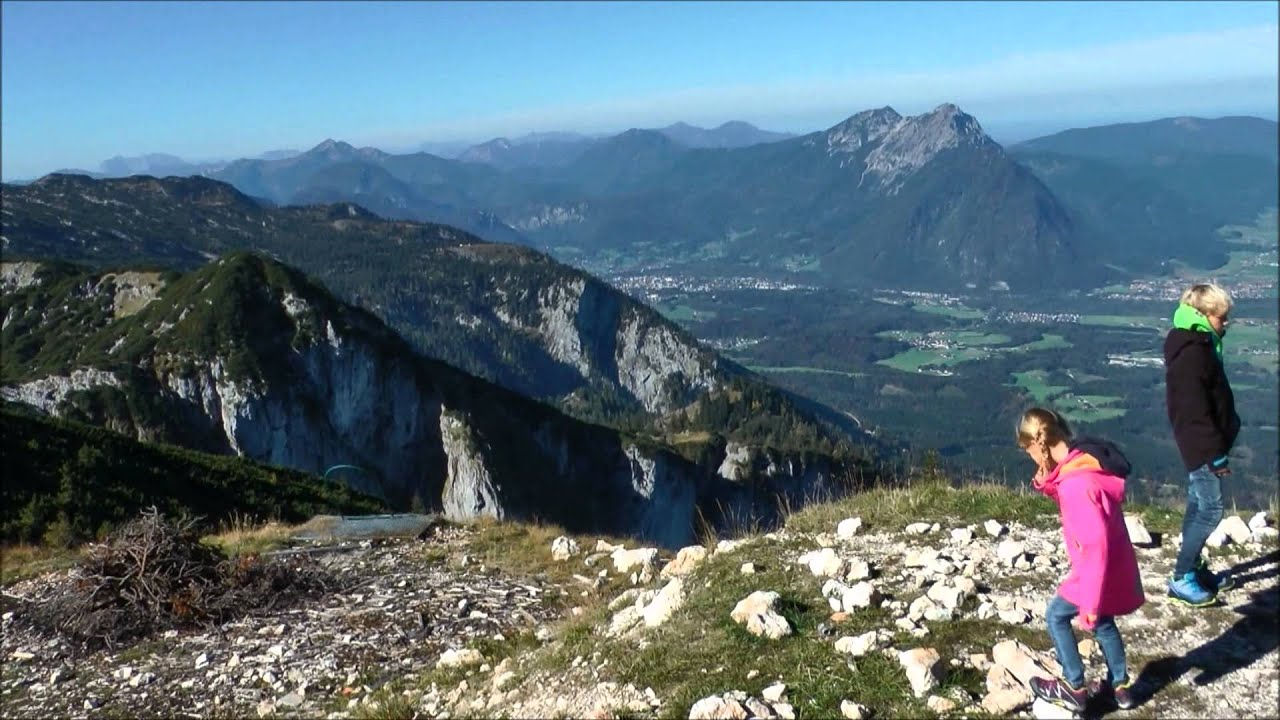 Hiking On The Untersberg Mountain Near Salzburg Austria
