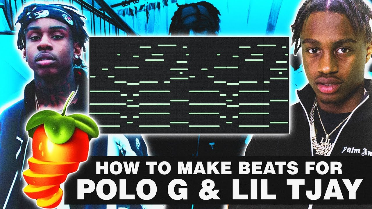 HOW TO MAKE MELODIES FOR POLO G & LIL TJAY   FL Studio 12 Tutorial