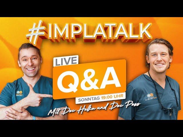 Live Q&A mit Doc Helka & Doc Poss!