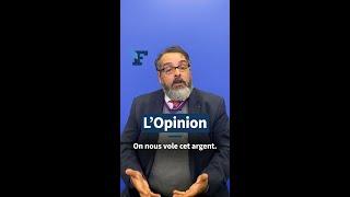 «Plutôt que d'augmenter les impôts, stoppons la fraude !» plaide Charles Prats