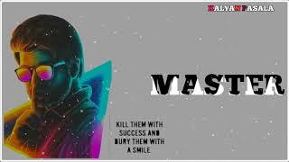 Master Movie bgm🎻Telugu bgm ringtones🔥Telugu whatsapp status videos🔊Thalapathi vijay🎻#Master Thumb