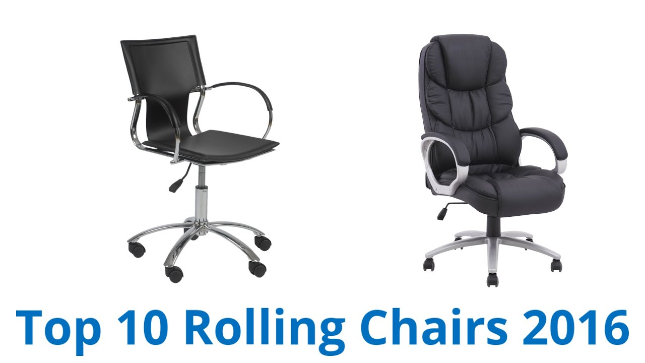 10 Best Rolling Chairs 2016