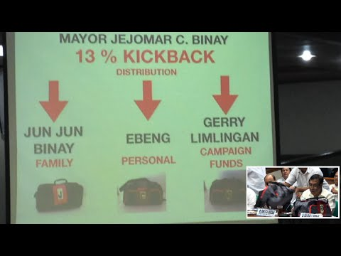 Binay received 13% kickbacks from Makati projects, says former ally