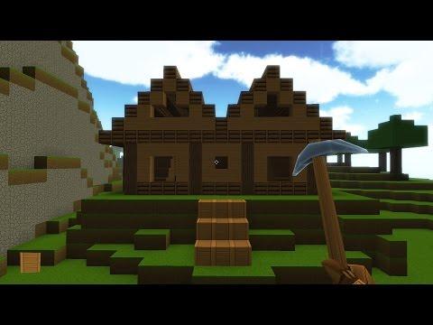 Как построить красивый дом в Копатель Онлайн