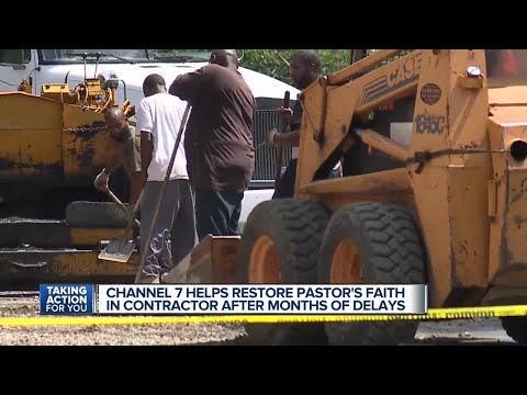 Channel 7 helps restore pastor's faith in contractor after months of delays