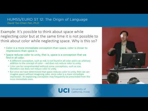 Lecture 13: Charles Peirce 2
