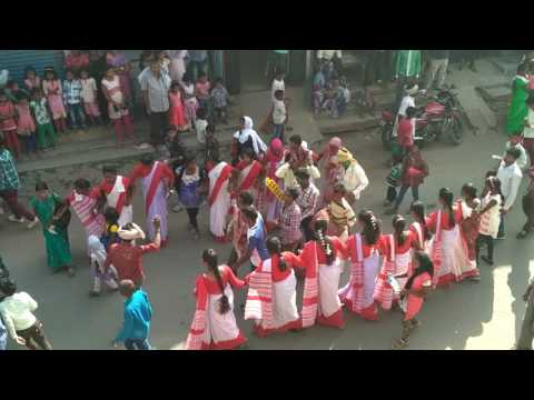 Sarhul festival in jharkhand, chatra (a kind of festival). 2017