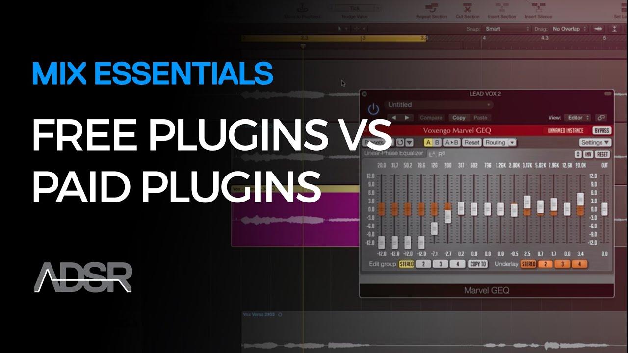 Mix Essentials - Free Plugins VS Paid Plugins