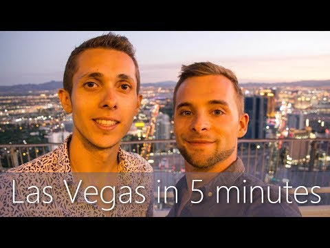 Las Vegas in 5 minutes | Travel Guide | Must-sees for your city tour