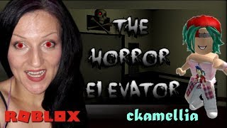 Going through the floors of fear! - The Horror Elevator in Roblox!