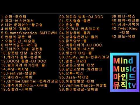 1990년대~2000년대 댄스곡모음  2시간40분 연속듣기