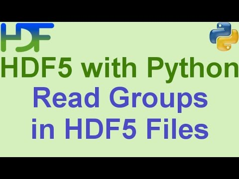 6/10- HDF5 with Python: How to Read Groups and Subgroups from HDF5 Files